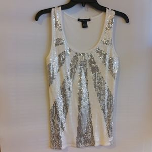 4/$25 Cruise Wear & Co. Sequined tank M
